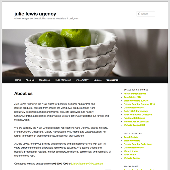 Julie Lewis Agency
